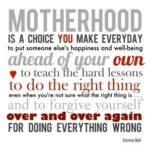 MD - motherhood