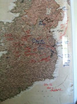 EDK map