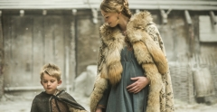 Vikings 2 Aslaug and son