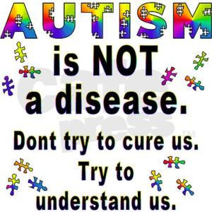 autism not-a-disease