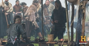 Horik and Ragnar confer