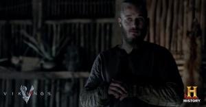 Ragnar waiting for birth