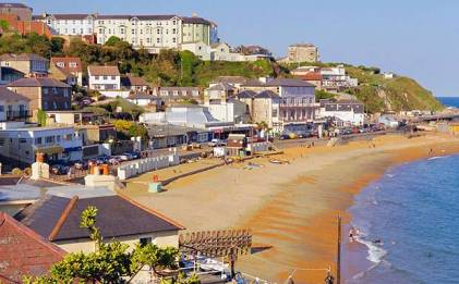 Photo taken on Ventnor, Isle of Wight. Found on The Telegraph.co.uk