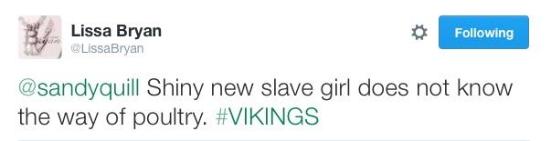 slave poultry tweet tweet lissa