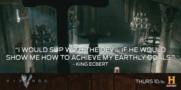 Ecbert the hypocrite in church