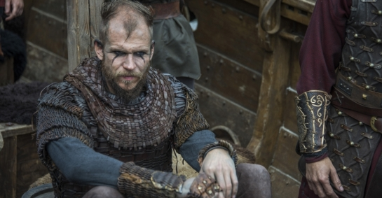 vikings floki on ship