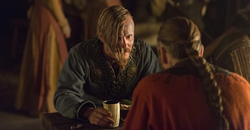 vikings_s4e5_harald and halfdan at party