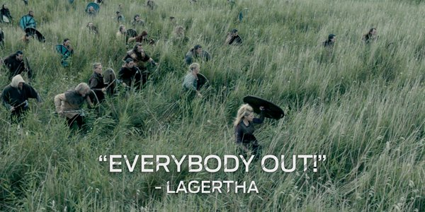vikings s4e7 lagertha retreat